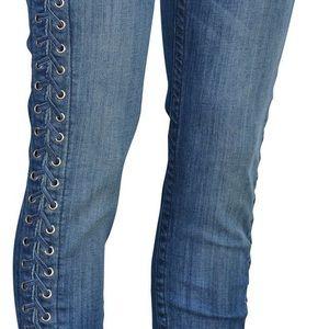 Raven Lace True Religion Stretch Denim Jeans